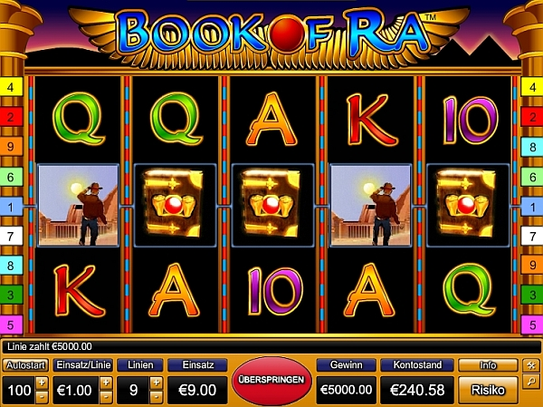 casino online ohne download bokk of ra