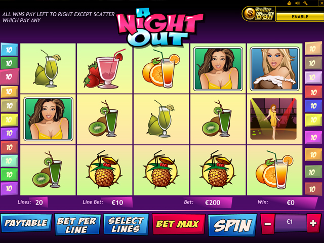 a night out online slot im eurogrand casino