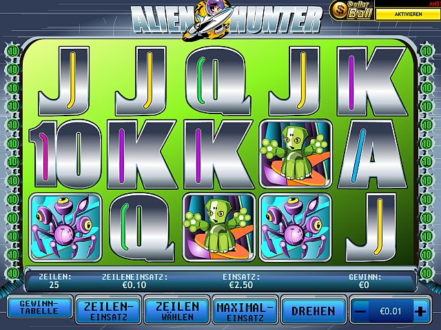 Alien Hunter im Swiss Casino spielen