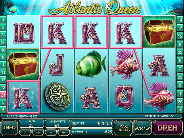 Atlantis Queen Slot