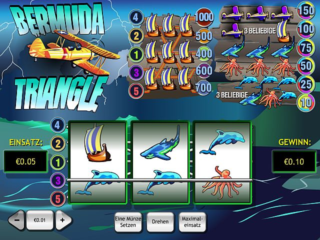 Bermuda Triangle Playtech