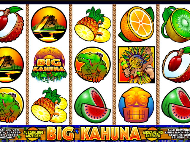 big kahuna automatenspiel im mr green casino