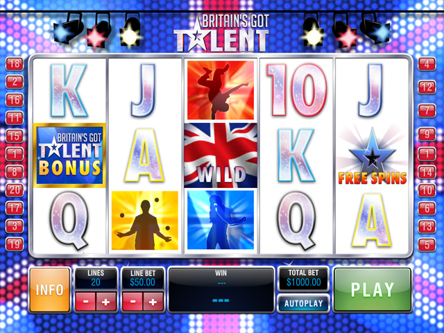 britains-got-talent online slot