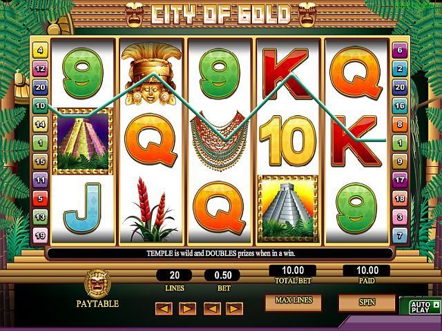 City of Gold spielen bei 888