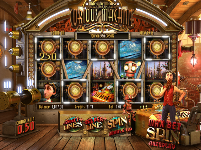 curious machine automatenspiel im mr green casino