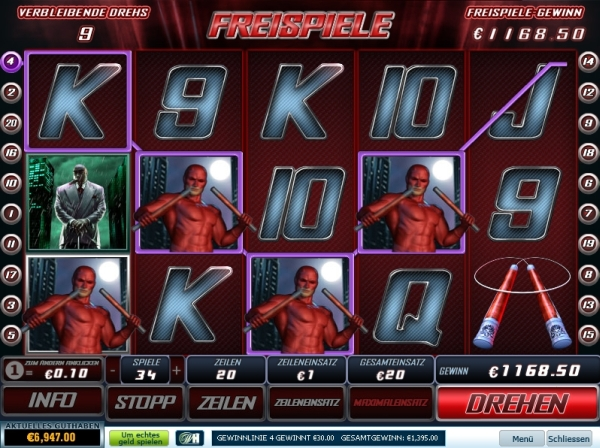 Dardevil Casinospiel