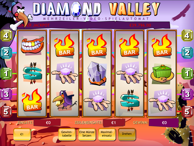 diamond valley slot im eurogrand casino