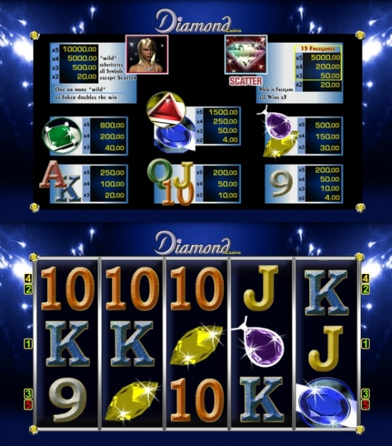 casino merkur online like a diamond