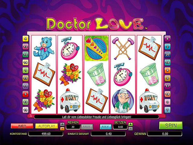 Doctor Love Spielautomat