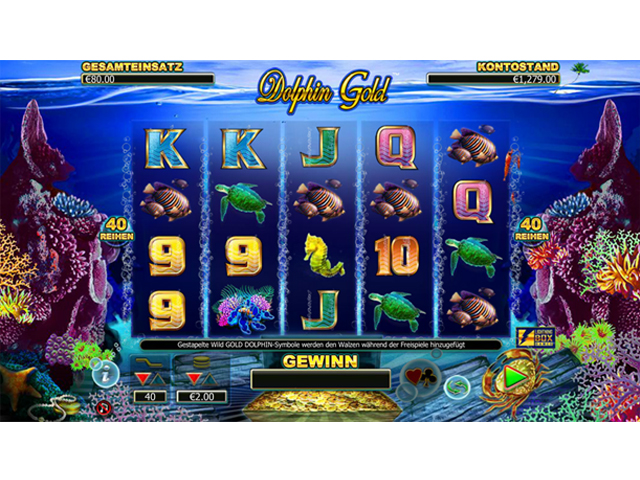 dolphin-gold online slot