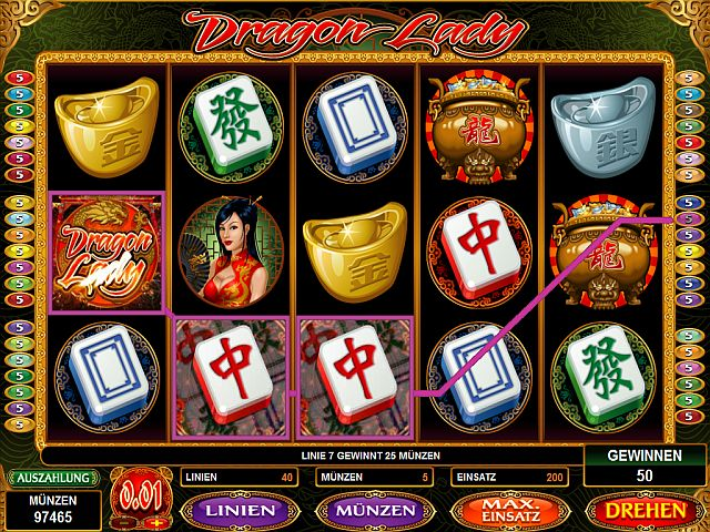Dragon Lady Spielautomat