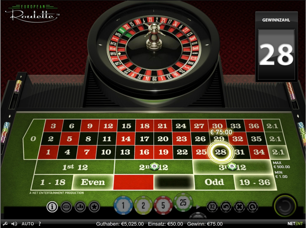 Roulette Begriffe