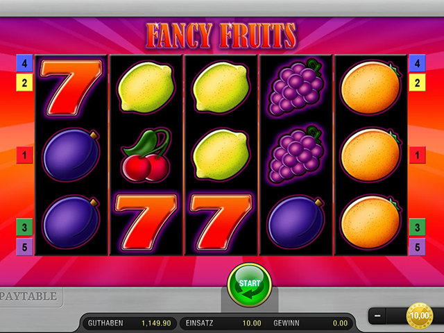 » Fancy Fruits kostenlos spielen » Casino-Spiele.com