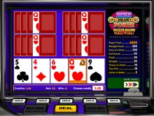 Five Draw Videopoker