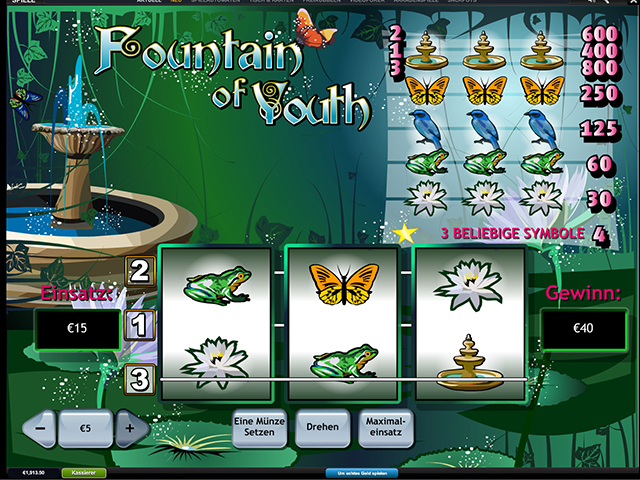fountain of youth online slot im winner casino