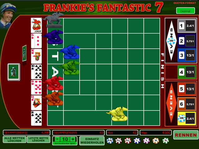 frankies fantastic 7 im winner casino spielen