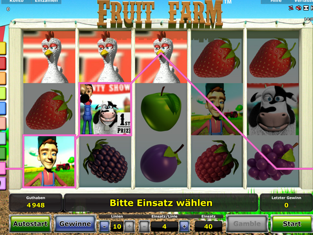 fruit farm novoline slot im stargames casino