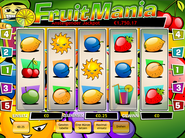 fruit mania online slot im eurogrand casino