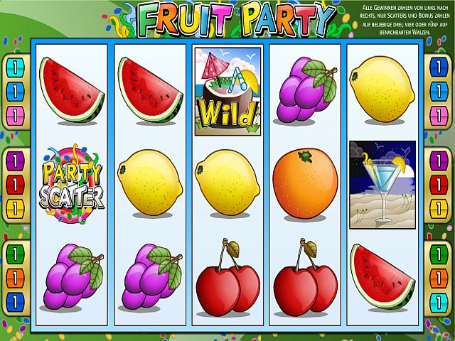 Fruit Party Jackpot Spiel