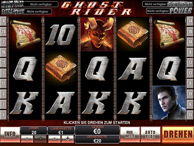 Ghost Rider Marvel Slot