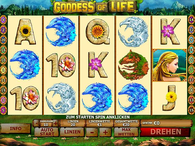 Goddess of Life gratis Slot