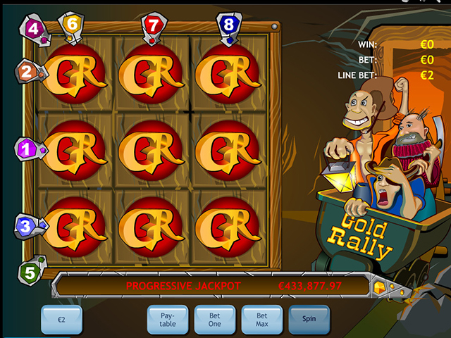 gold rally autmatenspiel im winner casino