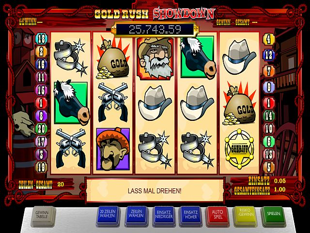 Gold Rush Showdown Spielautomat