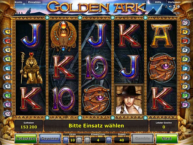 Golden Ark Novoline Slot