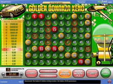 Golden Bonanza Keno