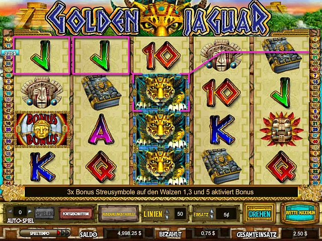 Golden Jaguar Slot