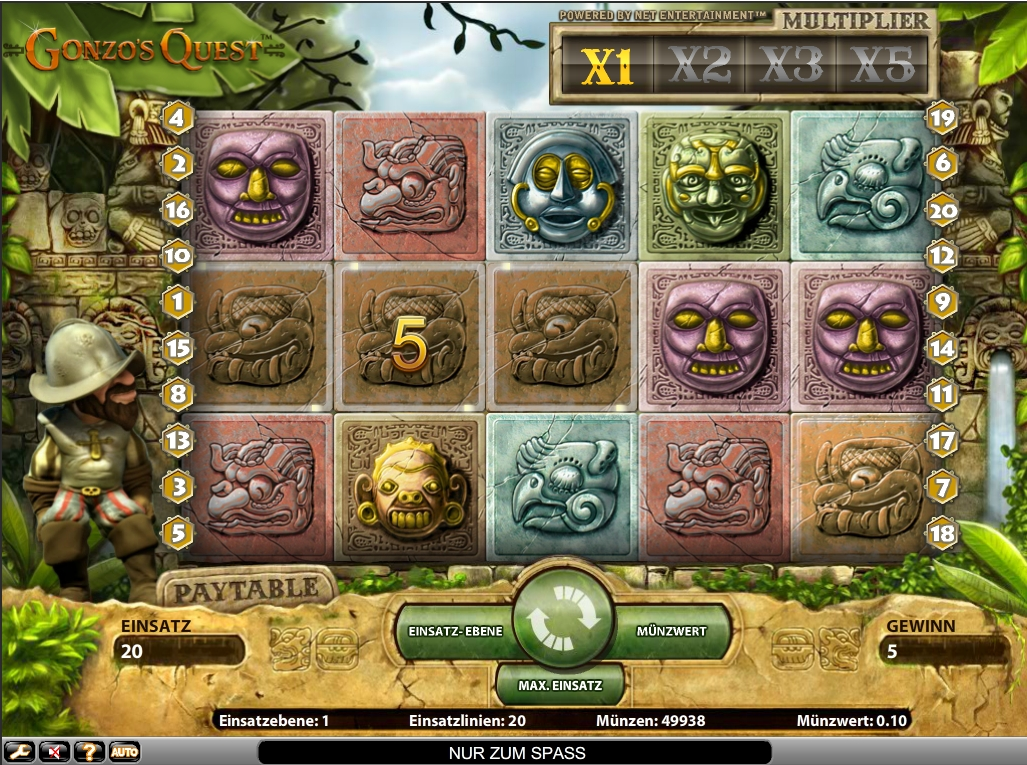 Gonzos Quest | Spielautomaten im Online Casino | Mr Green
