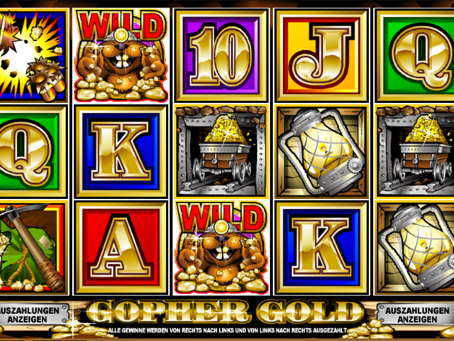 gopher gold automatenspiel im spinpalace casino