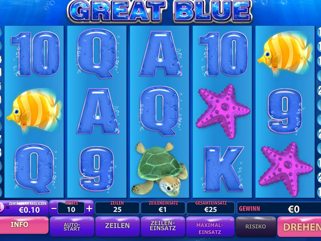 great blue online slot im eurogrand casino