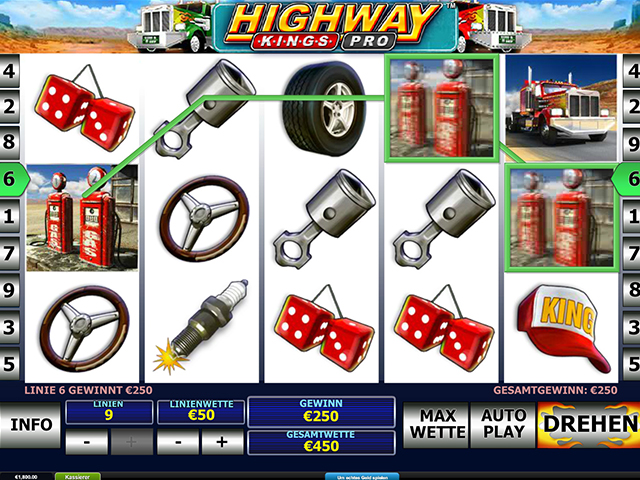 highway kings pro automatenspiel im winner casino