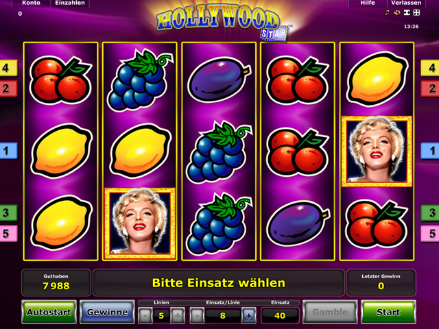 Hollywood Star Slots - Spielen Sie gratis online