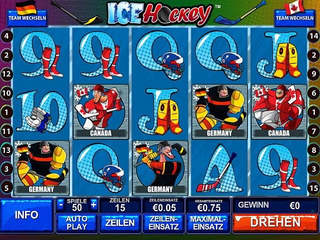 Ice Hockey Spielautomat