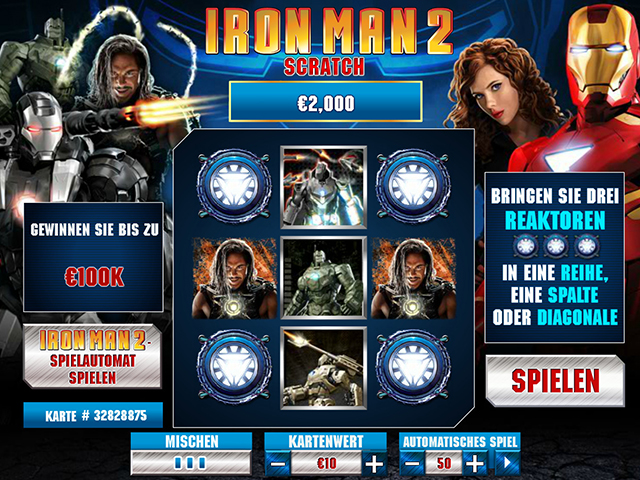 iron man 2 scratch im winner casino