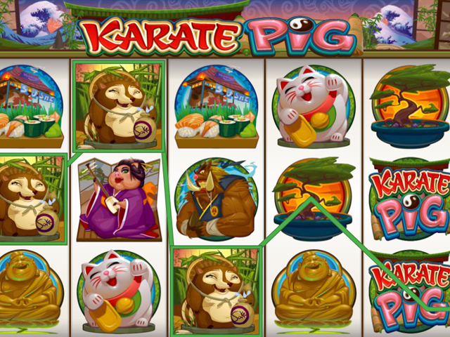 karate pig online slot im mr green casino