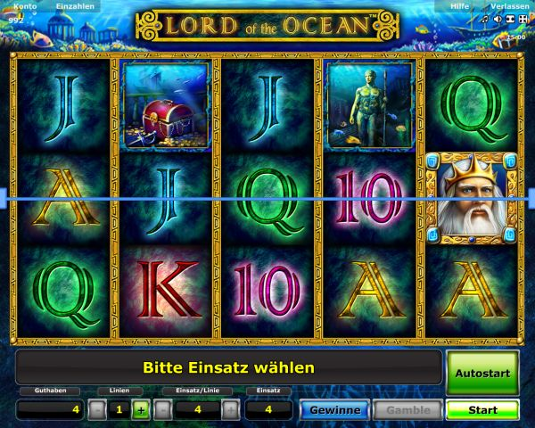 start online casino lord of the ocean kostenlos