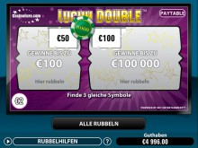 Lucky Double Rubbellose