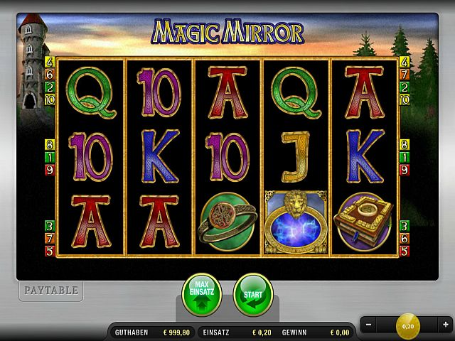 Magic Mirror Merkur Spiel