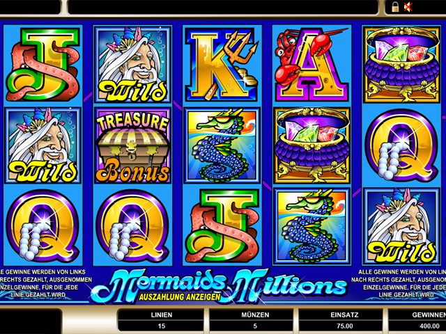 mermaids millions online slot im mr green casino