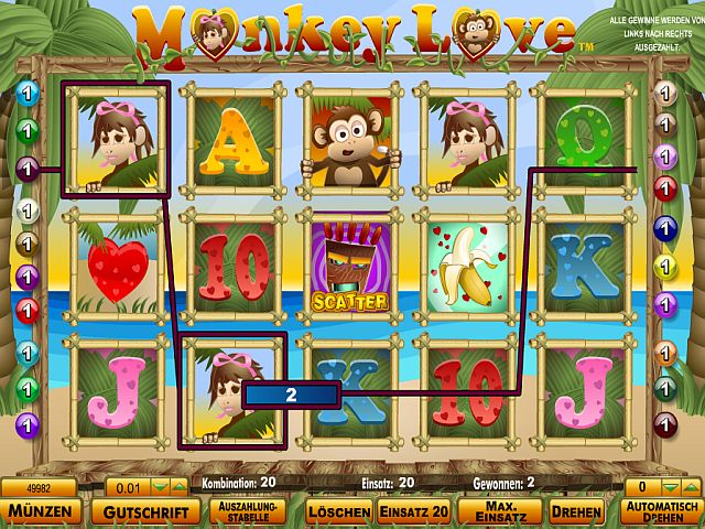 Monkey Love Slot