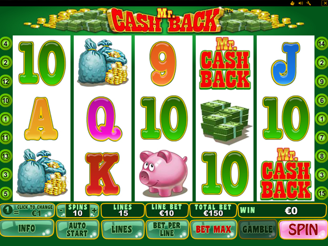 mr cash back automatenspiel im eurogrand casino