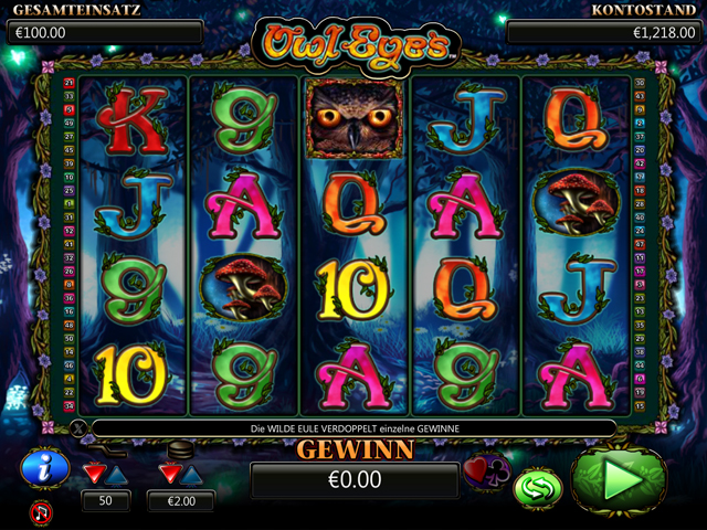 Owl Eyes video slot – spil online gratis