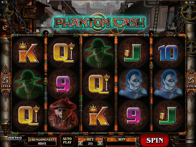 Phantom Cash Automatenspiel