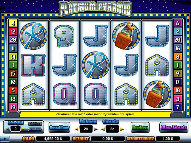 Platinum Pyramid Slot