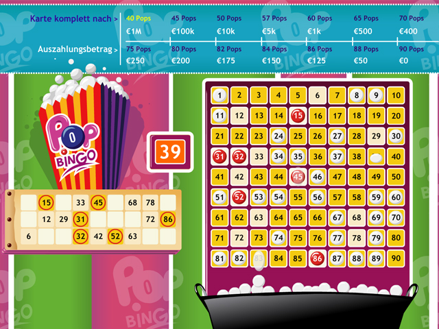 pop bingo automatenspiel im winner casino