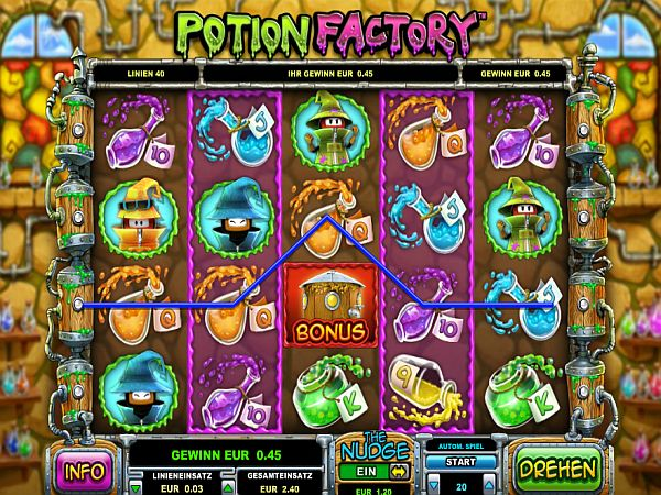 Potion Factory Spielautomat