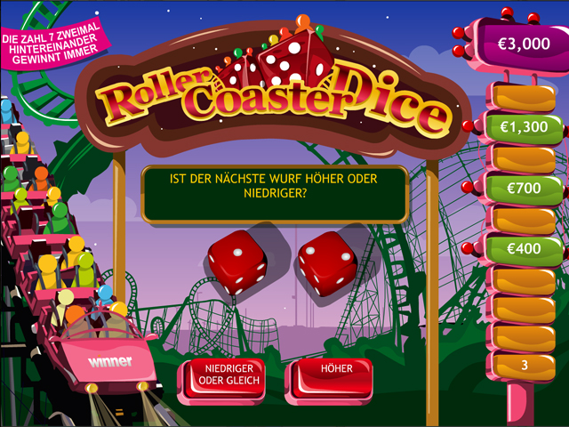 roller coaster dice im winner casino spielen